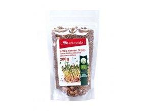 Směs semen na klíčení 3 BIO - cizrna, čočka, pískavice 200g