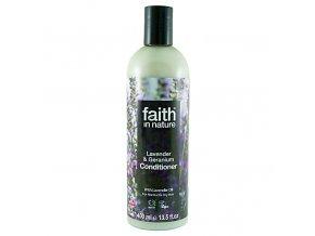 Faith in Nature přírodní kondicionér Levandule a Pelargonie 400 ml