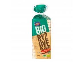 Chlebíčky rýžové s amarantem bezlepkové 140 g BIO   RACIO