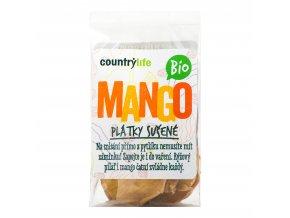 Mango plátky sušené 80g BIO   COUNTRYLIFE