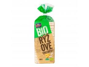 Chlebíčky rýžové bezlepkové 140 g BIO   RACIO