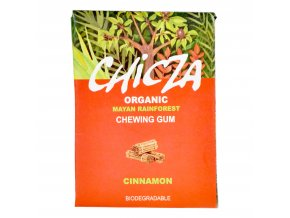 Žvýkačka s příchutí skořice 30 g BIO   CHICZA