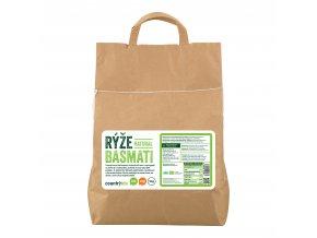 Rýže basmati natural 5kg BIO   COUNTRYLIFE