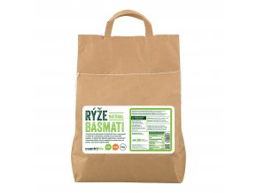 Rýže basmati natural 5 kg BIO   COUNTRY LIFE