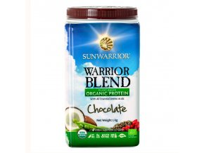 Protein Blend Bio čokoládový 1 kg Sunwarrior