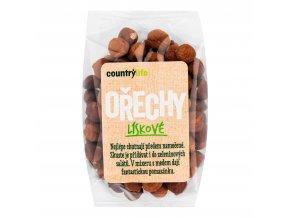 Lískové ořechy 100g   COUNTRYLIFE