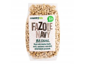 Fazole navy 500 g BIO   COUNTRY LIFE