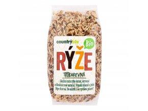 Rýže tříbarevná 500g BIO   COUNTRYLIFE