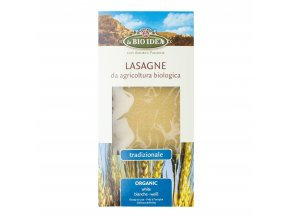 Lasagne pšeničné 250g BIO BIOIDEA