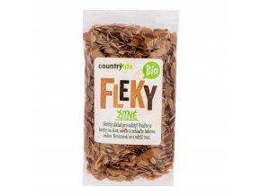Těstoviny fleky žitné 400g BIO   COUNTRYLIFE