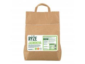 Rýže jasmínová 5kg BIO   COUNTRYLIFE