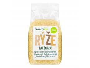Rýže parboiled 500g BIO   COUNTRYLIFE