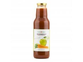 Koncentrát jablkomrkvový 750 ml   SEVEROFRUKT