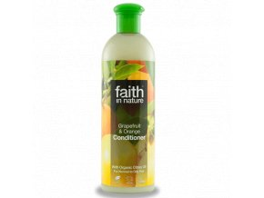 Faith in Nature přírodní kondicionér BIO Grapefruit a Pomeranč 250 ml