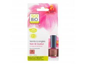Lak na nehty 06 nahá růžová 10 ml   SO´BIO étic