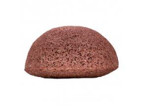 Kongy Konjaková houbička - růžový jíl pro suchou a citlivou pleť