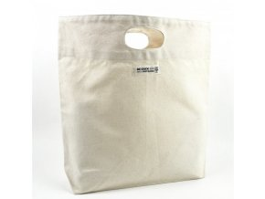 Re-Sack Plátěná nákupní taška s vykrojenými uchy velmi pevná, z bio bavlny