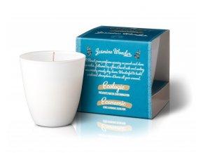 The Greatest Candle Vonná svíčka ve skle (130 g) - jasmínový zázrak