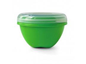 Preserve Svačinový box (750 ml) - zelený ze 100% recyklovaného plastu