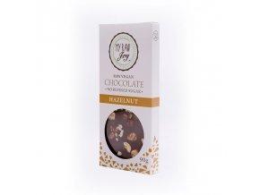 Čokoláda BIO lískooříšková 90 g My raw joy