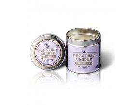 The Greatest Candle Vonná svíčka v plechovce (200 g) - borůvky