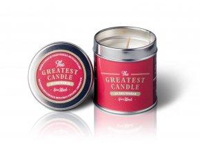 The Greatest Candle Vonná svíčka v plechovce (200 g) - dřevo a koření