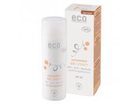 Eco Cosmetics CC krém SPF 30 BIO - dark (60 ml) komplexní péče pro vaši pleť