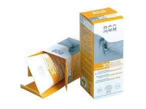 Eco Cosmetics Opalovací krém SPF 30 BIO (75 ml)