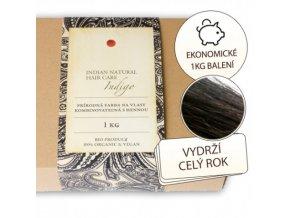 BIO Indigo 1000g (kombinovatelné s hennou) Barva na vlasy Natural Hair Care