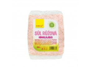 Himalájská sůl růžová jemná 250 g Wolfberry