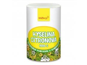 Kyselina citronová 1000 g Wolfberry