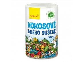 Kokosové mléko sušené BIO 500 g Wolfberry PDZ
