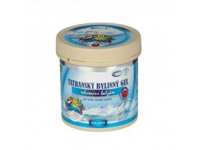 Tatranský gel chladivý 250 ml Topvet