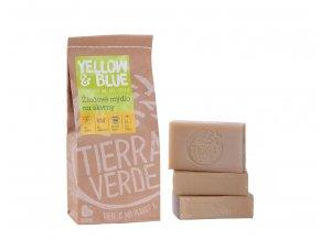Tierra Verde – Žlučové mýdlo (Yellow & Blue), 140 g × 3