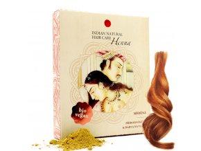 BIO 100% Henna 200g (měděná kůra) Barva na vlasy Natural Hair Care