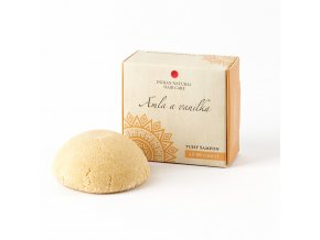 Tuhý šampon Amla a vanilka 60g Natural Hair Care