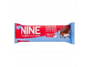 Tyčinka se semínky kokosem a kakaem bezlepková 40g 9NINE