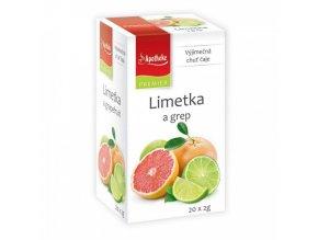 Apotheke PREMIER Limetka a grep čaj 20x2g