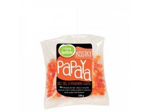 Papaya kostky nesířené 100g