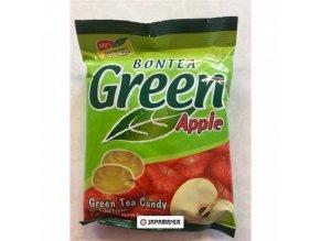 Bonbony se zeleným čajem a jablkem