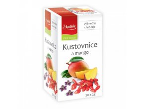 Apotheke PREMIER Kustovnice a mango čaj 20x2g