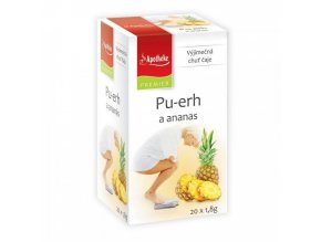 Apotheke PREMIER Pu-erh a ananas čaj 20x1,8g