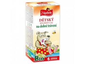 Apotheke Dětský čaj na dobré trávení BIO 20x1,5g