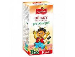 Apotheke Dětský čaj ovocný BIO 20x2g