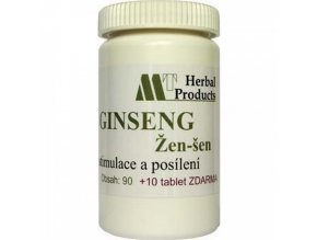 Herbal produkt Ginseng 90+10tbl