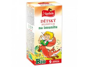 Apotheke Dětský čaj na imunitu BIO 20x1,5g