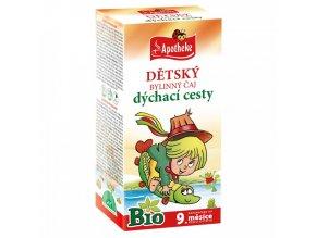 Apotheke Dětský čaj na dýchací cesty BIO 20x1,5g