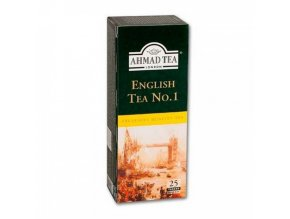 London Ahmad English tea NO1 čaj 25x2g