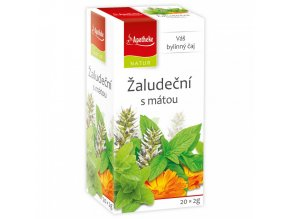 NATUR Žaludeční s mátou čaj 20x2g