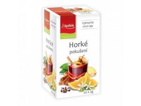 Apotheke PREMIER Horké pokušení čaj 20x2g